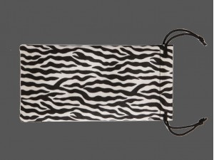 Call Bags- Rubberized - SILVER ZEBRA (1 doz.)